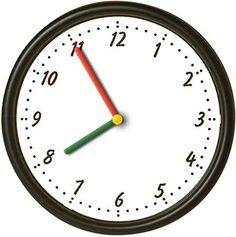 Smartboard interactive clock game