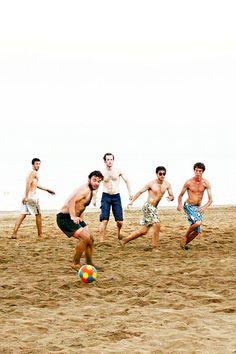 Futbol de platja | Barceloneta © Ingrid Berniga Dotras