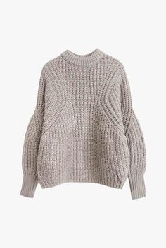 Oversized Crop Knit Sweater                         – Genuine People