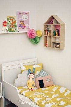 Such a cute space for a little girl
