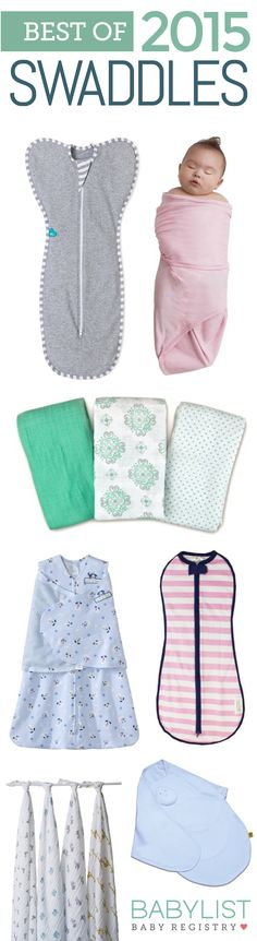 Keeping your little one snug and secure is easy, with the Best Swaddles of 2015! Check out our top picks, as recommended by real life parents.