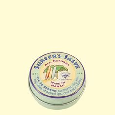 Surfer's Salve - Island Soap & Candle Works. This stuff works like magic on any skin issues!