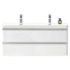 Forme Evolution Twin Wall Hung Vanity 1200mm 1089.00