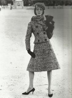 robe années 60 tailleur Dior 1961