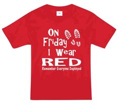 RED Friday w/boots - toddler