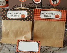 Printable Halloween Decorations - 2011 Halloween Printables