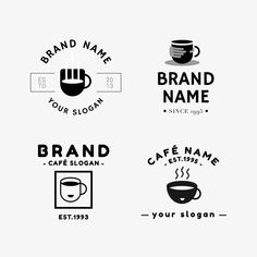 Coffee Machine For Sale Hipster Coffee Shop, Coffee Shop Logo, Coffee Shop Design, Coffee Branding, Cafe Logo, Bakery Logo, Coffee Vector, Hipster Logo, Coffee Photos