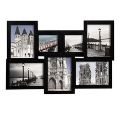 ADECO PF0192 7-Opening Black Wooden Wall Hanging Collage Photo Picture Frames - Holds 4x4 & 5x7 Inch Photos, Best Gift by ADECO, http://www.amazon.com/dp/B00CIDCY4C/ref=cm_sw_r_pi_dp_AceIrb1K1XXXE