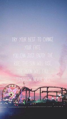Tomorrow never dies //  5 SOS