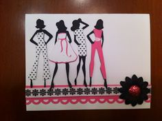 Pretty in pink...the series  Forever Young-Cricut