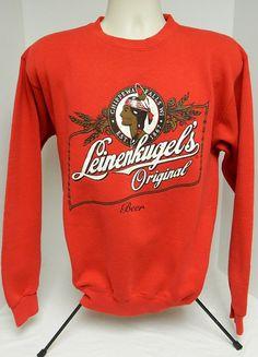 90s Leinenkugel's Original Beer Crew Neck Sweater by by BeyondLeaf