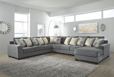 Castano Sectional with Chaise, Jewel – Family Room İdeas 2020 Large Sectional Sofa, Living Room Sectional, Living Room Furniture, Living Room Decor, Couches, House Furniture, Sofa Set, Furniture Decor, Bedroom Decor