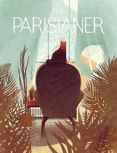 The Parisianer by Karolis Strautniekas, via Behance