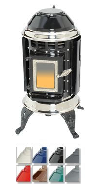 Thelin Hearth Products - Stoves: Classic Series: Gnome Pellet Stove To bad i can't replace my wood stove