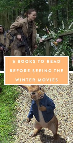 6 Books to Read Before You See the Movies This Winter #purewow #books #movies #entertainment