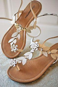 Wedding Sandals Youll Want To Wear Again ❤ See more: http://www.weddingforward.com/wedding-sandals/ #weddingforward #bride #bridal #wedding