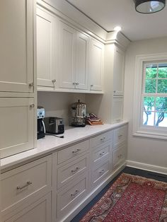Butler's Pantry in laundry room/mudroom combo