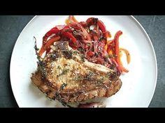 Рецепт от Гордона Рамзи - Жареные свиные отбивные с перцем - YouTube Гордон Рамзи, Свинина, Еда, Youtube