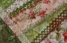Something about this tickles at my mind.  Quilting and Embroidery