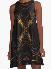Dragons A-Line Dress  by Scar Design #summerclothing #summervacationsdress #beachdress #beach #summerfashion #giftsforher #gifts #giftsforteens #summergifts #womensfashion #hipster #colorful #style #swag #sunset #sunsetdress #dress #summerdress #summer2016 #buydress #Alinedress #buydresses
