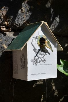 Green Ladybird Bird Box by Jennifer Collier - Radiance #art #birdhouse #assemblage