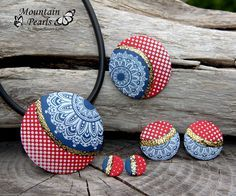 Handmade jewelry sets to copy