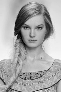 The coolest hairstyles Fish Tail Braids. :) longlayeredhairstyles.us
