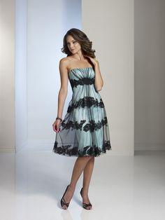 8a03079c323c Black Tie Affair BY11233T Special Occasion Knee Length Bridesmaid Dresses