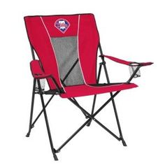 Now available in our store Philadelphia Phil.... Check it out here! http://everythinglicensed.com/products/philadelphia-phillies-mlb-game-time-chair