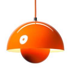 Panton Flowerpot VP1 Pendant Lamp   Designed by Verner Panton in 1969   Manufactured in Denmark