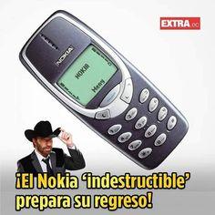 Nokia prepara el regreso del indestructible 3310 14 FEB 2017 / 17:54 H. El Mobil World Congress (MWC) la conferencia más grande de telefonía móvil se celebrará del 27 de febrero al 2 de marzo en Barcelona. En el encuentro se darán cita las más reconocidas marcas móviles del mundo para mostrar sus nuevos dispositivos destinados a cubrir la demanda de esta primera mitad del año. Entre ellos resurge la mítica marca Nokia que según Evan Blass reportero del portal tecnológico Venture Beat traerá…