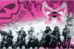 Harley-Davidson® Pink Ladies Card & Pin Set 126578