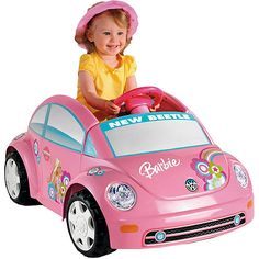 Disney princess girls 39 convertible car 6 volt battery for Motorized barbie convertible car