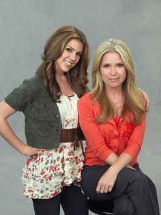 "Kate Mansi as ""Abigail Deveraux"" and Melissa Reeves as ""Jennifer Horton Deveraux"" #DAYS"