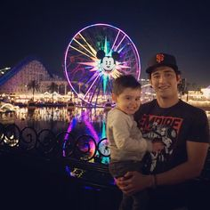 #tbt The love my family has for my son is priceless #disneyland with Tio @duanemoreno where u taking him next tio @itsomj #thefuture good night  by justchillinmyne