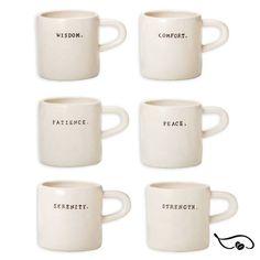 Rae Dunn New Mugs As