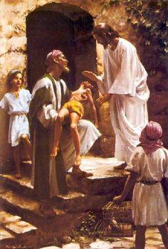 Jesus the Divine Healer – Harry Anderson Bible Pictures, Jesus Pictures, Lds Art, Bible Art, Harry Anderson, Christian Artwork, Biblical Art, Jesus Lives, God Jesus