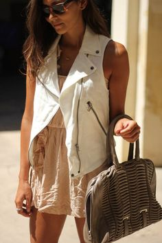 white & nude on tanned skin