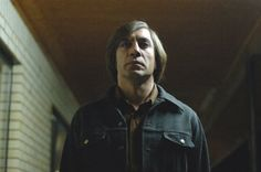 Javier Bardem Talks About No Country for Old Men: Javier Bardem in No Country for Old Men.