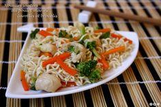 Une nouvelle recette de wok en vue du nouvel an chinois ! Rapide et peu calorique mais tout autant pleine de saveurs :) Ingrédients : (pour 4 personnes) 2 blancs de poulet 250g de nouilles chinoises 150g de brocolis 2 carottes 1 oignon sauce soja huile...