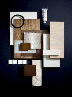 Home Interior Decoration Ideas Interior Design Boards, Interior Design Inspiration, Moodboard Interior, Ecole Design, Material Board, Colour Board, Collage, Colour Schemes, Mood And Tone