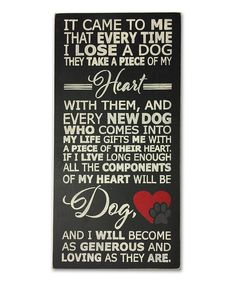 Look what I found on #zulily! Wood 'It Came to Me' Wall Sign by Sara's Signs #zulilyfinds