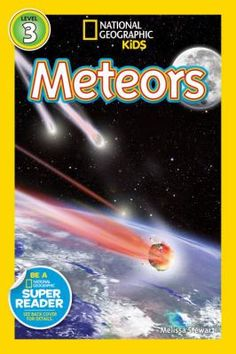 """New to the Library! September 2016 """"Meteors"""" By Melissa Stewart"""