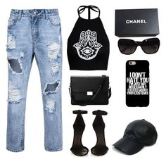 """Untitled #340"" by lionessrose ❤ liked on Polyvore featuring Isabel Marant, Aspinal of London, Chanel and Vianel"