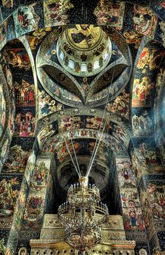 Inside the church - Galati, Romania Copyright: ungureanu doru