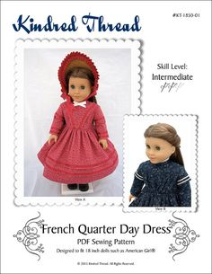 Pixie Faire Kindred Thread French Quarter by PixieFairePatterns