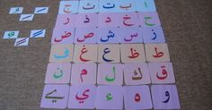 Teaching Arabic alphabet