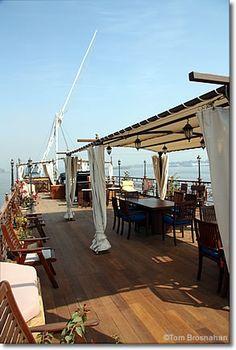 Dahabiya boat on the Nile, Egypt