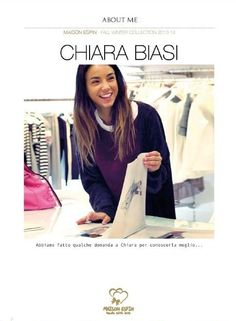 Interview ... Aspettando il nuovo catalogo con Chiara Biasi#shooting #london #backstage#chiarabiasi#maisonespin #cool #fashionblogger#womancollection #lovely #MadewithLove #romanticstyle #milano#clothing #shopping #iloveshopping