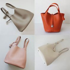 Leather Craft, Leather Bag, Creative Bag, Hermes Paris, Wallets For Women, Bucket Bag, Fashion Beauty, Jewelry Watches, Handbags